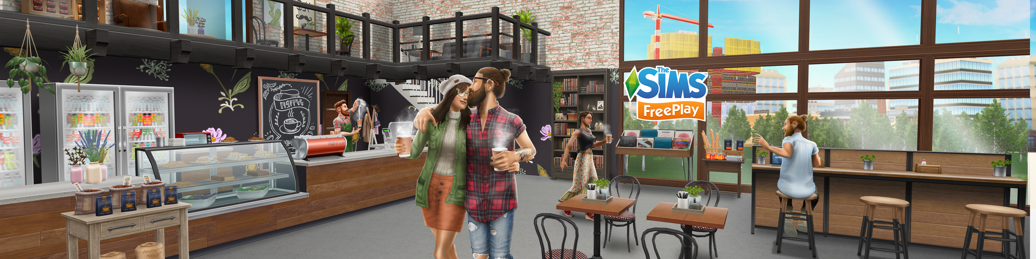 The Sims Freeplay Cafe Culture update!